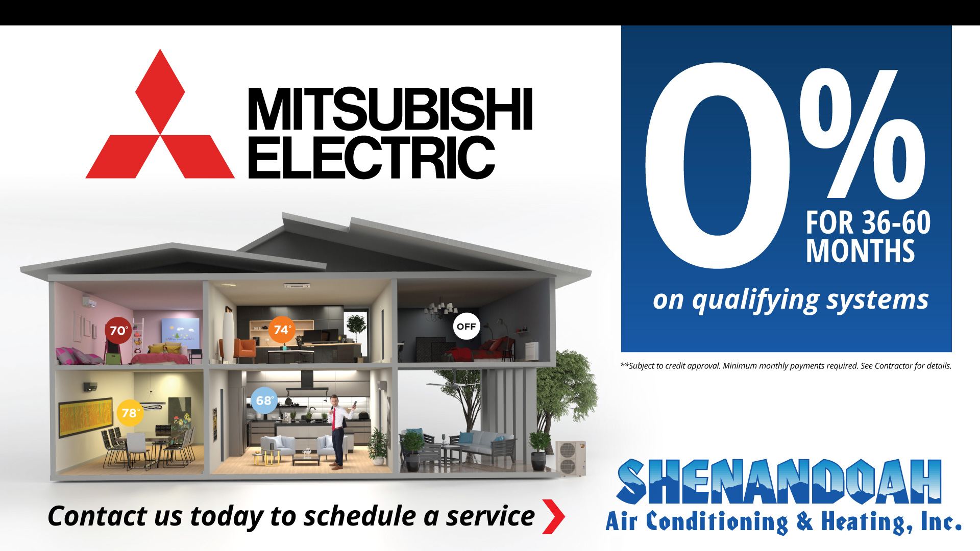 Mitsubishi 0% Financing for 36-60 months